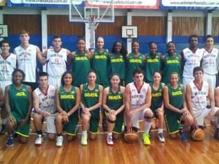Seleção brasileira feminina vai enfrentar equipes da WNBA