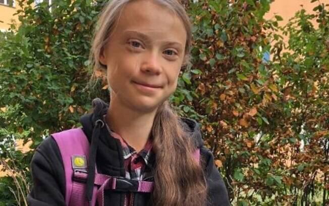 Greta Thunberg voltou às aulas na Suécia