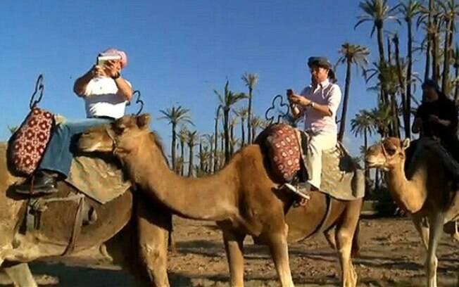 Equipe da BBC foi a deserto no Marrocos para testar conexões a internet