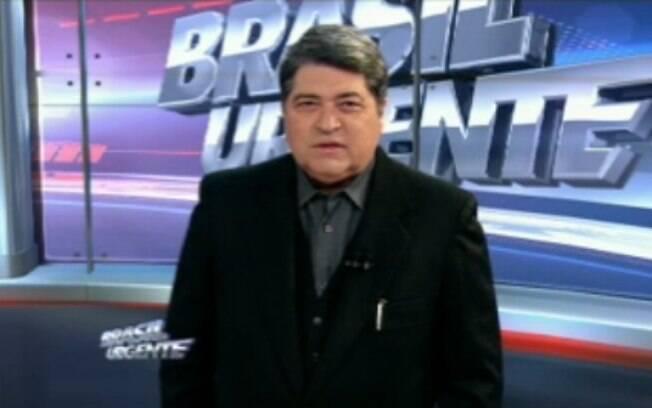 O apresentador José Luiz Datena: após anos de negativa, ele agora assume que tentará cargo