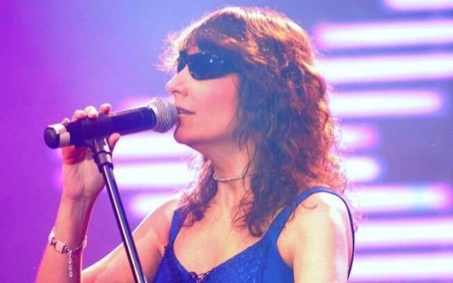 A cantora Kátia hoje mora em São Paulo