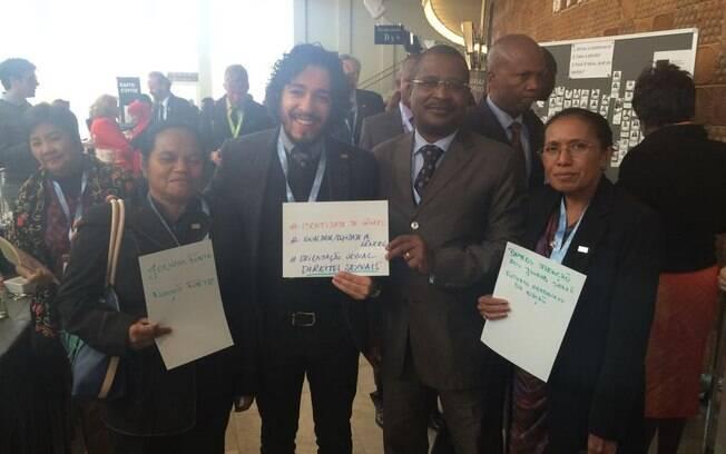 Jean Willys participa de conferência ao lado de deputados do Timor Leste e São tomé e Príncipe