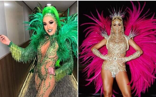 Musas deixam a nudez de lado no Carnaval 2019