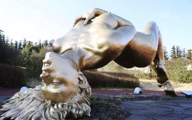 Na Coreia do Sul, o Jeju Love Land prioriza esculturas com o tema sexual, o trabalho de artistas locais e a cultura coreana