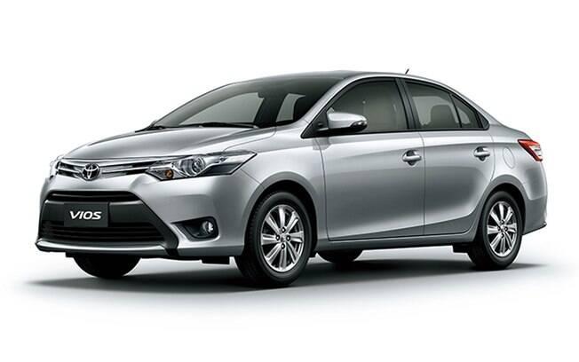 Rival do Honda City, o Toyota Vios era esperado para 2015, junto com o hatch Yaris