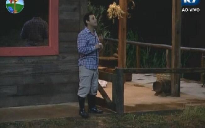 Do Celeiro, Vavá conversa com Diego e recebe notícia de atividade