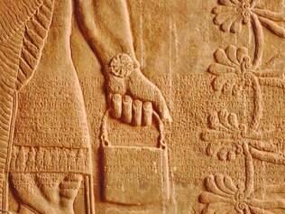 """Patrimônio.Relevo da antiga civilização assíria em Nimrud, fundada no século 13 a.C. O chamado """"tesouro de Nimrud"""", achado em 1988, é uma coleção de 613 objetos descritos como a descoberta mais importante desde a tumba de Tutankamón, em 1923, no Egito"""