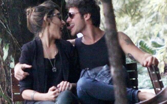 Os dois estão namorando há pouco mais de 2 meses