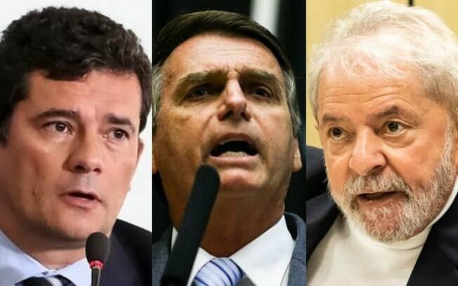Lula Moro Bolsonaro