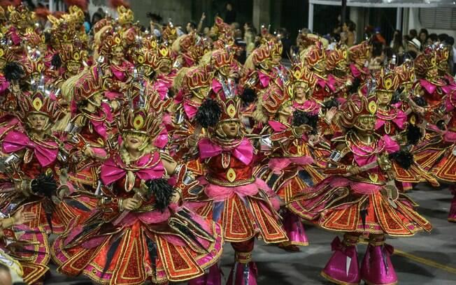 Quinta escola da última noite de desfiles do Grupo Especial em São Paulo, Vai-Vai falou sobre o Candomblé