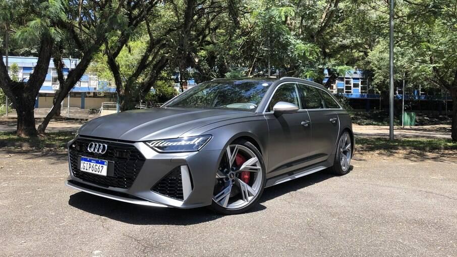 Audi RS6 2021: tudo é superlativo nessa perua com V8 de 600 cv, câmbio de 9 marchas e porta-malas de 565 litros