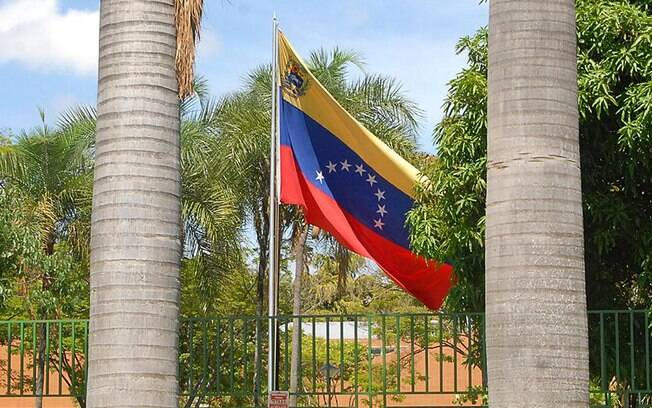 Bandeira venezuelana
