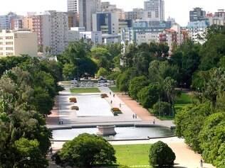 Parque da Redenção, em Porto Alegre