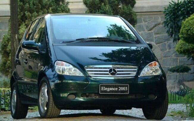 Mercedes-Benz Classe A: modelo ficou à frente do seu tempo no Brasil na época em que chegou a ser fabricado no País