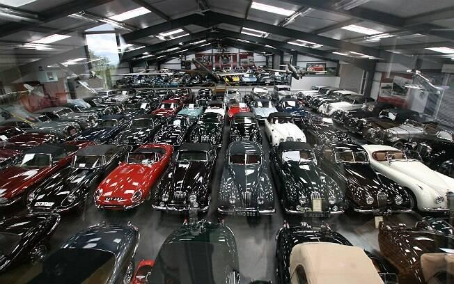 Jaguar comprou coleção com mais de 540 carros