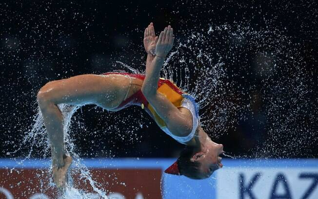 Mortal da nadadora da Itália na final no  Mundial