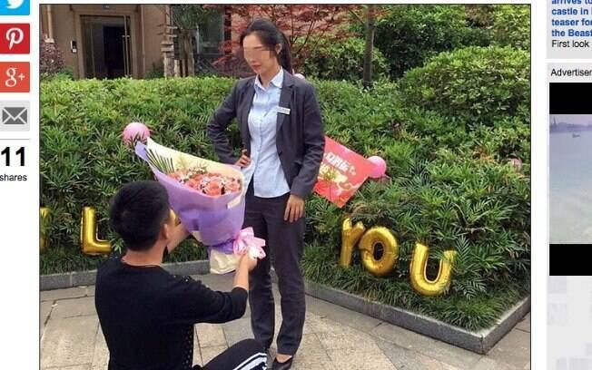 Depois de tanto sacrifício, mulher ainda recusou pedido de casamento