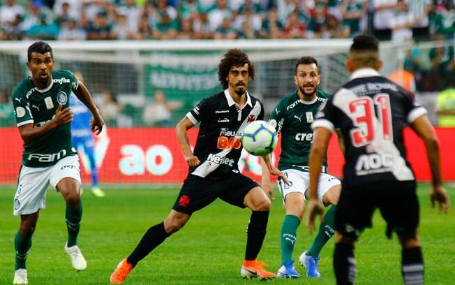Palmeiras e Vasco abriram a 12ª rodada do Brasileirão, no Allianz Parque