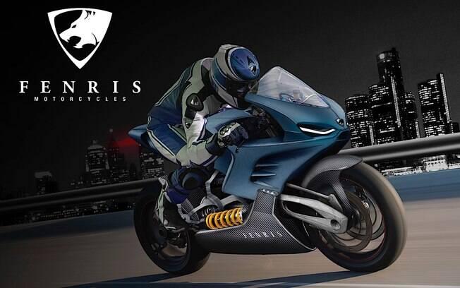 Moto elétrica esportiva será lançada pela nova marca dinamarquesa Fenris Motorclycles com motor de meros 11,8 kg