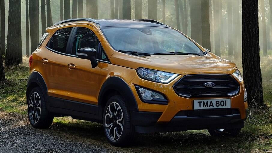 Ford EcoSport Active: entre os itens exclusivos de outra versão que não veio ao Brasil estão as rodas de aro 17