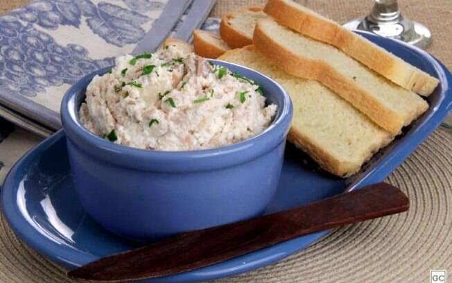Patê de atum com cebola: pronto em 10 minutos