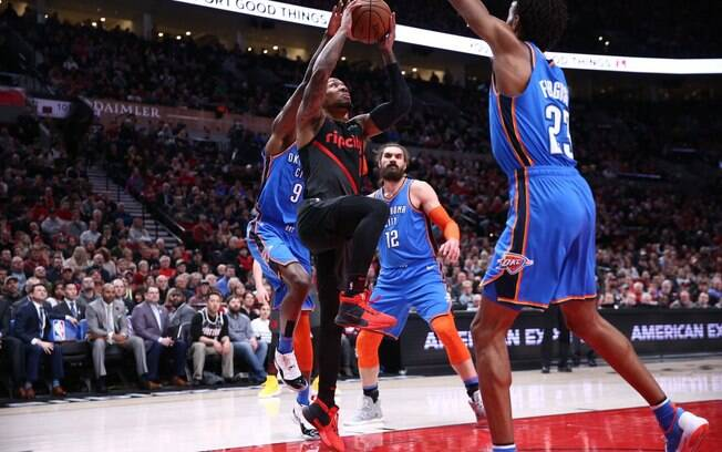 Duelo foi apertado, mas atuação gigante de Damian Lillard definiu a favor dos Blazers em mais uma rodada da NBA
