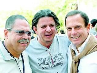 Fortalecendo relações. PCO, o deputado Fabinho Ramalho e João Doria Junior em Araxá
