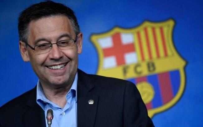 Bartomeu, presidente do Barça