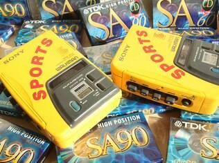 O icônico Walkman amarelo da década de 1990 foi, na verdade, lançado em 1988