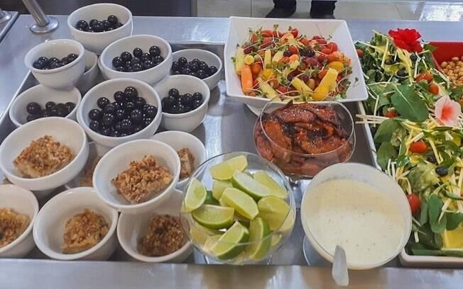 Alimentação saudável e mais uma das