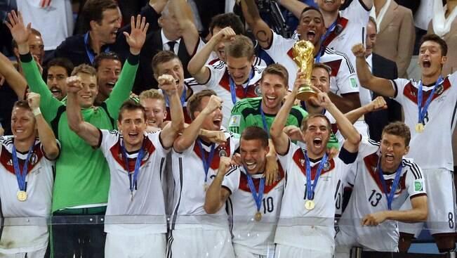 Alemanha lidera o ranking da Fifa, e Brasil cai para 7º