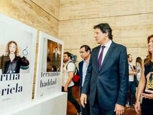 Veja como foi a abertura da exposição