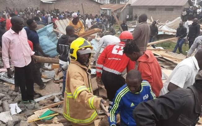 Além das sete mortes, outras 57 crianças se feriram no acidente