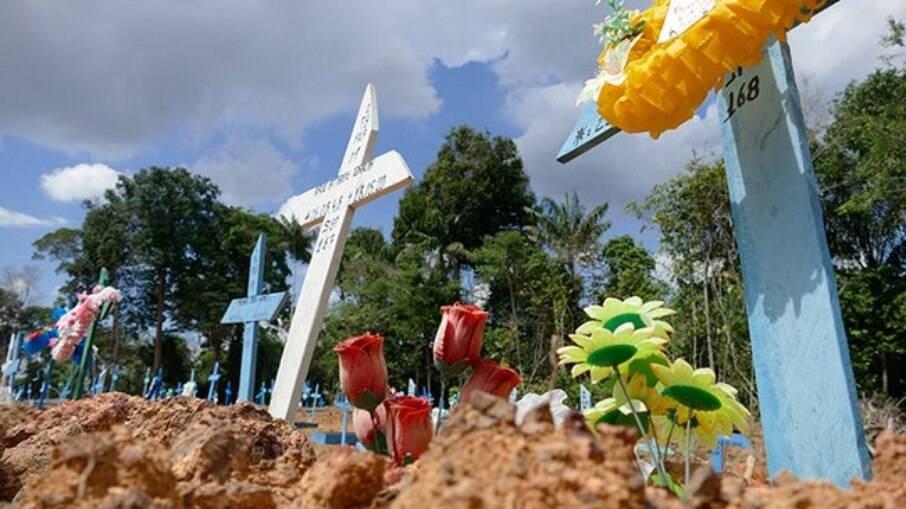 Cemitério Nossa Senhora Aparecida, em Manaus
