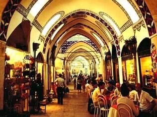 O Grande Bazar, em Istambul: mais de 4 mil lojas