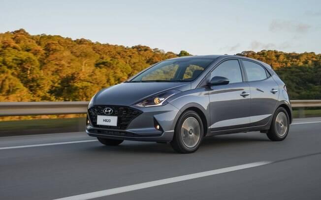Hyundai HB20 1.0 Turbo também figura entre os mais procurados nas lojas depois que suas vendas deslancharam
