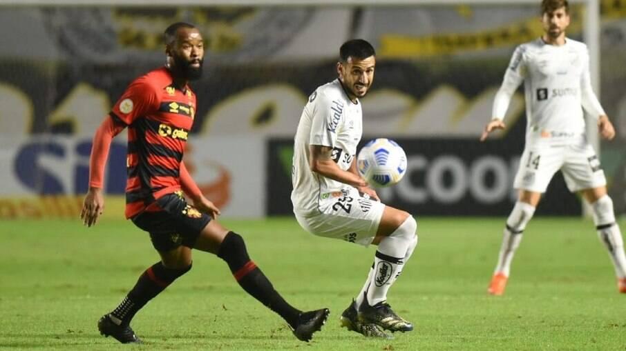 Santos e Sport fizeram jogo sem grandes emoções na Vila Belmiro