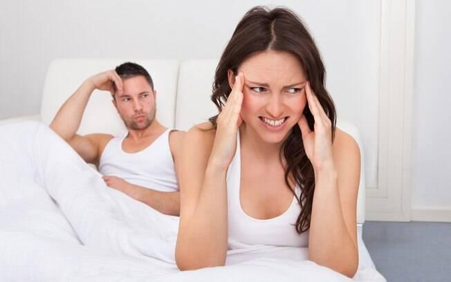 Dor de cabeça durante o sexo é um efeito colateral que atinge pelo menos um por cento dos adultos