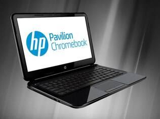 Chromebook da HP tem tela grande, mas bateria de cerca de quatro horas