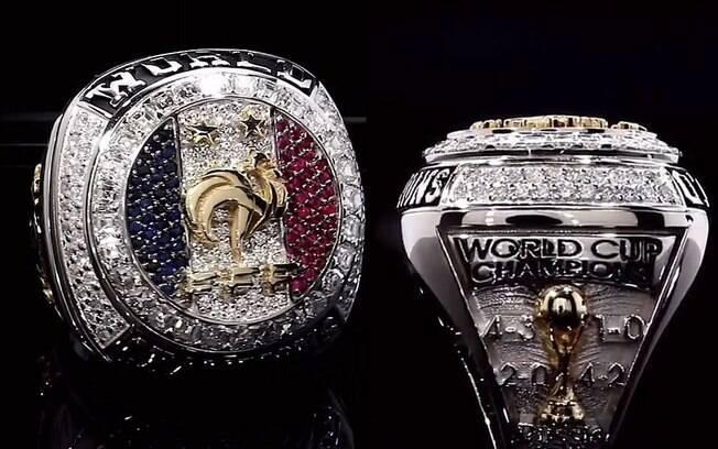 Paul Pogba e Antonie Griezmann confeccionaram anéis de diamante para seus companheiros de seleção