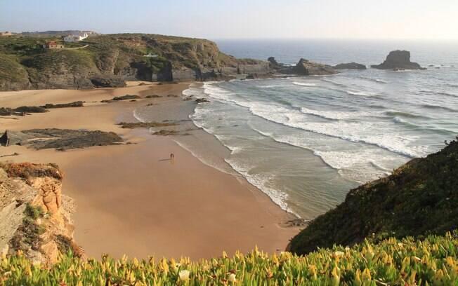 Alentejo é uma das regiões de Portugal que possuem belas praias; temperatura em todo o país deve passar dos 30ºC