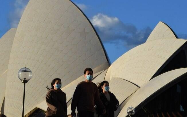 Com 5% de vacinados, Austrália corre para conter variante Delta