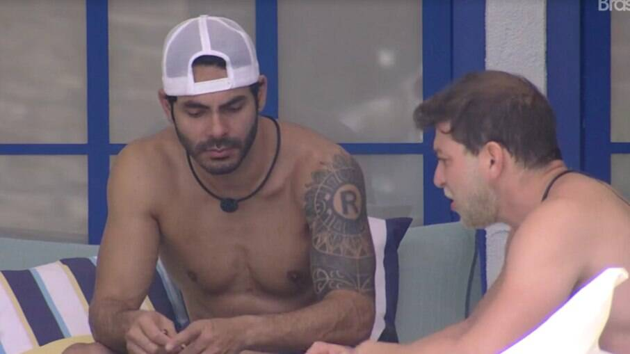 Caio e Rodolffo falam que Fiuk está na reta