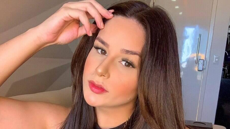 Pamella Holanda foi agredida pelo ex, DJ Ivis