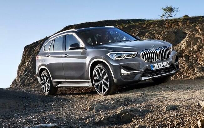BMW X1 cinza