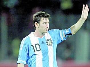 Estrela. Messi vai atrair as atenções na partida amistosa desta quarta-feira entre Argentina e Trinidad e Tobago