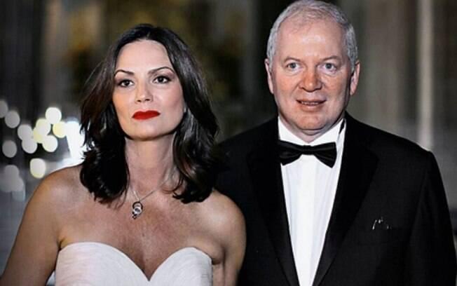 Luiza Brunet e Lírio Albino Parisotto
