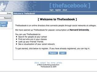 Primeira versão do Facebook foi criada em 2004 e completa oito anos com 800 milhões de usuários