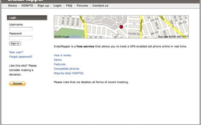 rastrear celular por gps google maps instamapper