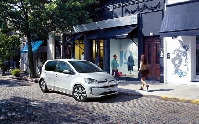 VW Up! elétrico, ou e-Up!, é a opção mais imediata antes dos I.D, que terão a plataforma modular dos VW elétricos